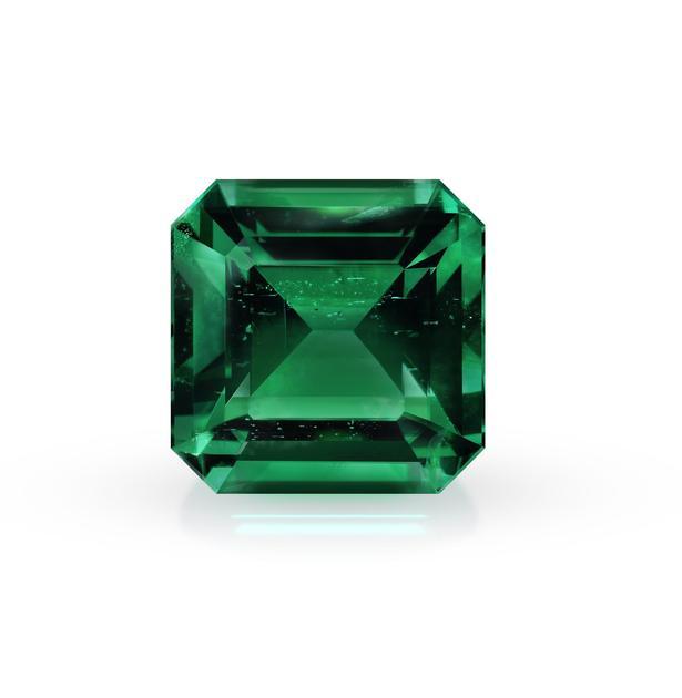 4.11 克拉的祖母绿切割宝石