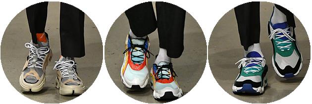 """""""Dad-shoes""""风格运动鞋"""