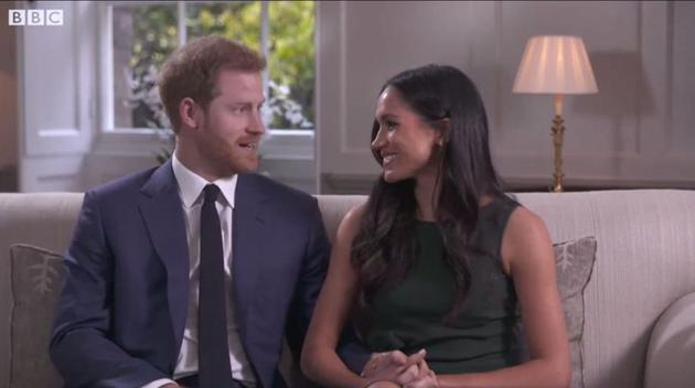 哈里王子和未婚妻Meghan Markle接受BBC的采访