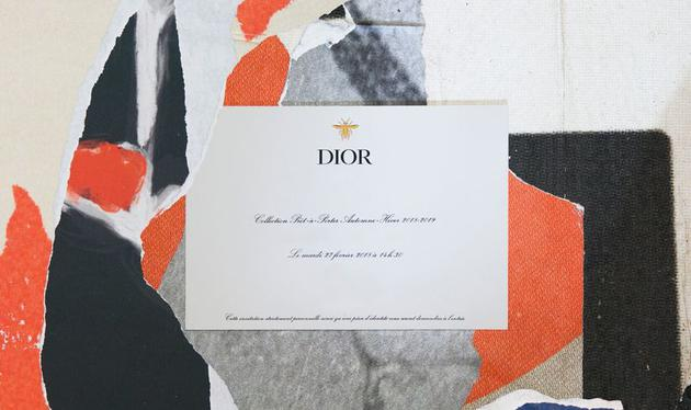 Dior邀请函