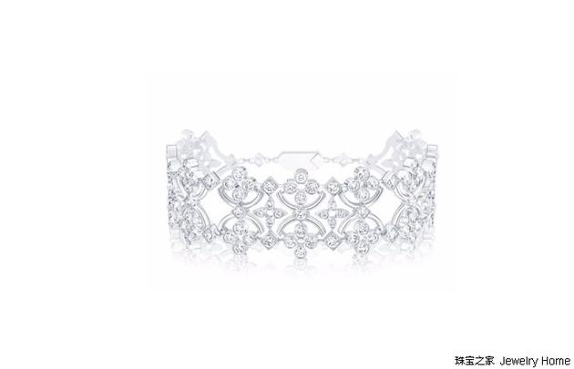 Louis Vuitton 路易威登 DENTELLE DE DIAMANTS 系列手镯