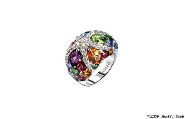 ENZO 海洋系列海星戒指