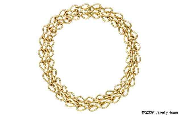 Cartier 卡地亚 链节与链条系列MAILLON INFINI 项链