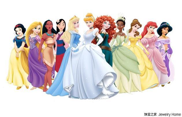 截止到2017年,已经推出了11位迪士尼公主
