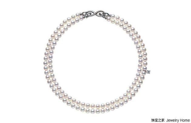 Mikimoto 御木本 双层珍珠项链