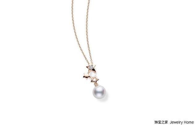 Mikimoto 御木本 珍珠吊坠