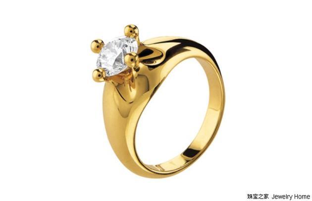 Bulgari 宝格丽 CORONA系列 钻石戒指