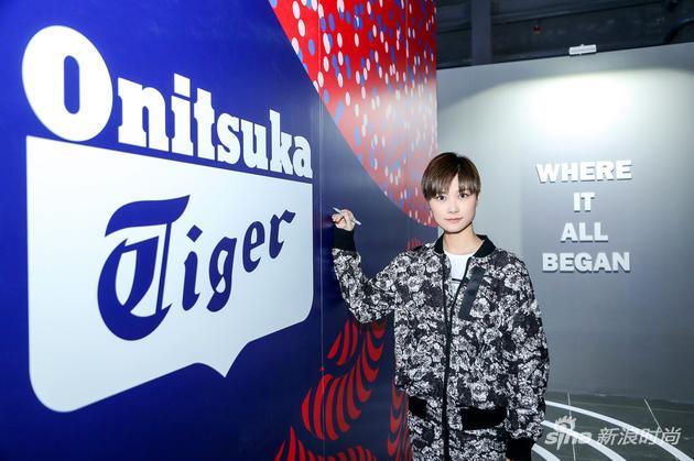 李宇春代言Onitsuka Tiger鬼塚虎