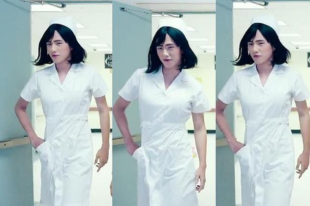 刘昊然扮女装