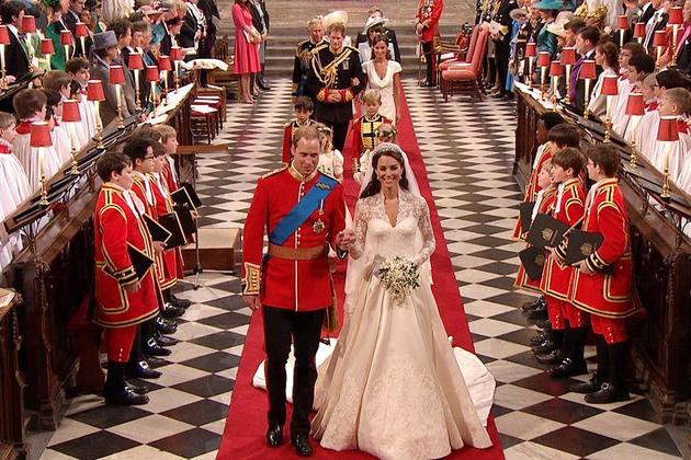 威廉&凯特大婚地点:伦敦威斯敏斯特大教堂