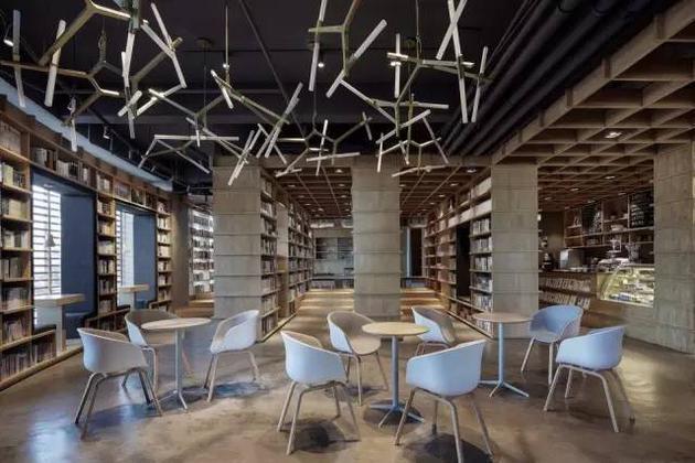 书店休闲区