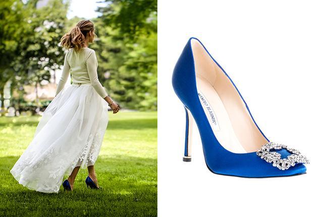 美国名媛Olivia Palermo出嫁时穿着《欲望都市》凯莉同款