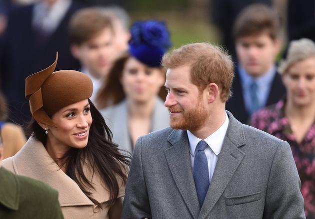 Meghan Markle与哈里王子
