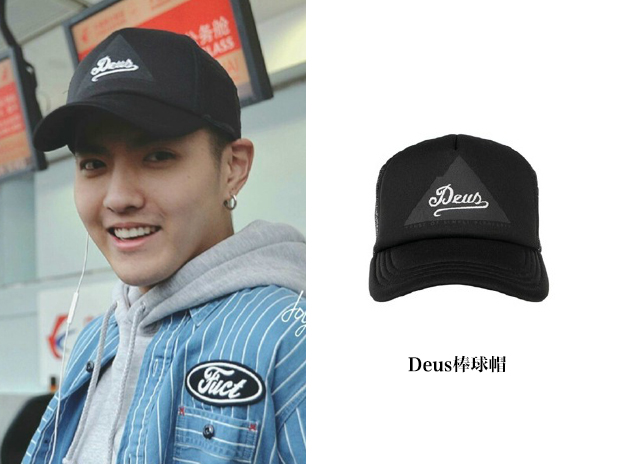 吴亦凡棒球帽