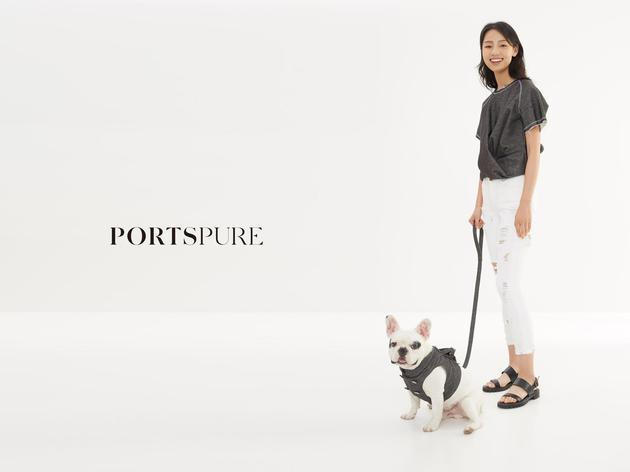 "宝姿PortsPURE""亲子""系列"