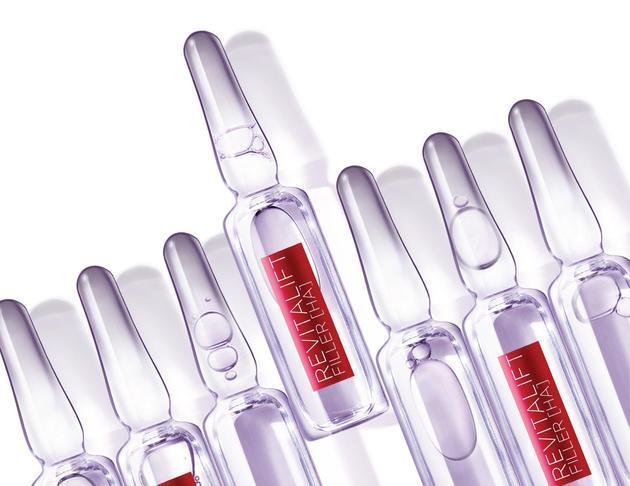 欧莱雅复颜玻尿酸水光充盈导入浓缩安瓶精华液