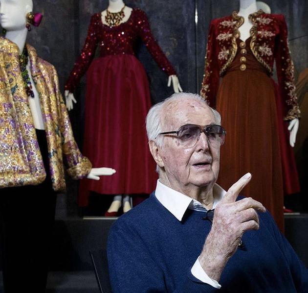 纪梵希的创始人去世 享年91岁