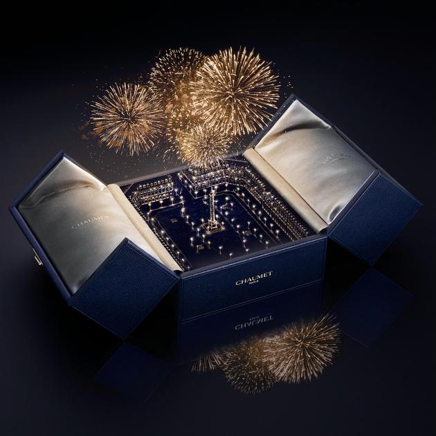 如今的CHAUMET蓝盒