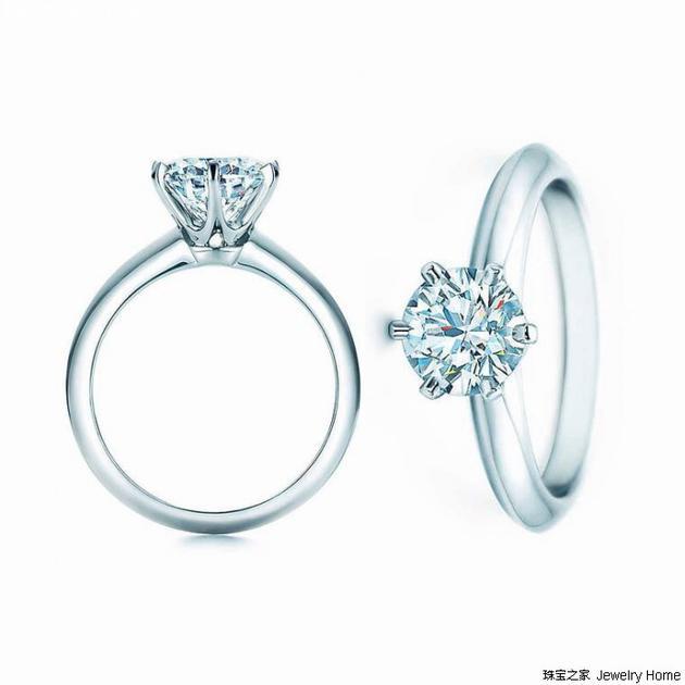 Tiffany & Co. 蒂芙尼 TIFFANY SETTING系列 戒指