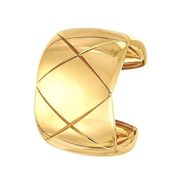 香奈儿高级珠宝COCO CRUSH系列黄18K金铐式手镯 ¥160,000