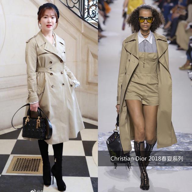 宋慧乔王丽坤何穗同场比美 Dior高订惊喜打造黑白幻梦