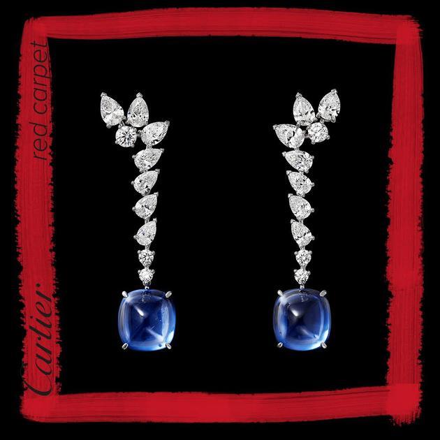 卡地亚高级珠宝耳环