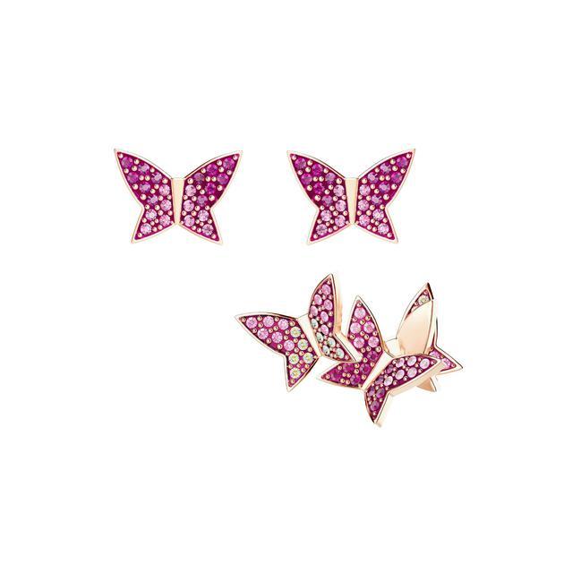 施华洛世奇蝴蝶耳钉 售价890元