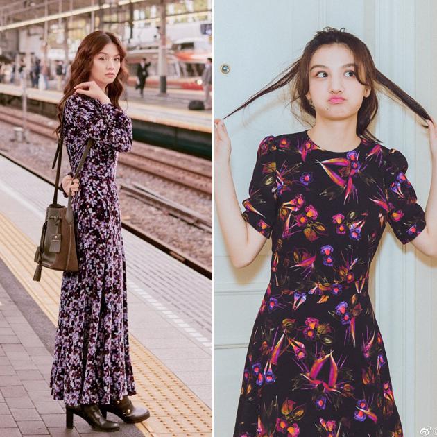 春夏连衣裙造型