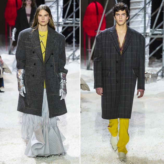 Calvin Klein大廓型西服外套