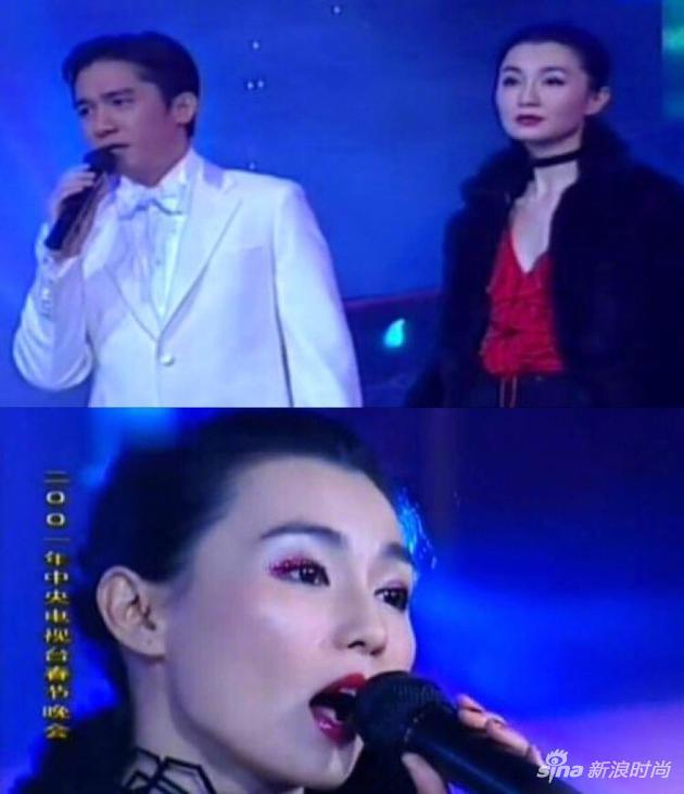 张曼玉2001年春晚