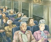 春运高铁上的人间百态