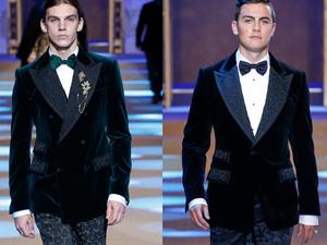 2018秋冬米兰男装周Dolce&Gabbana 秀场