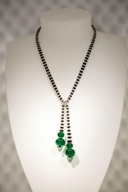 RESONANCES DE CARTIER系列高级珠宝SACCADE项链