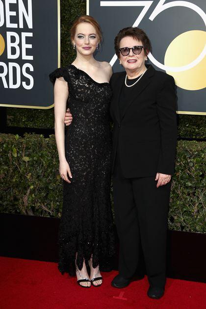 Emma Stone与Billie Jean King