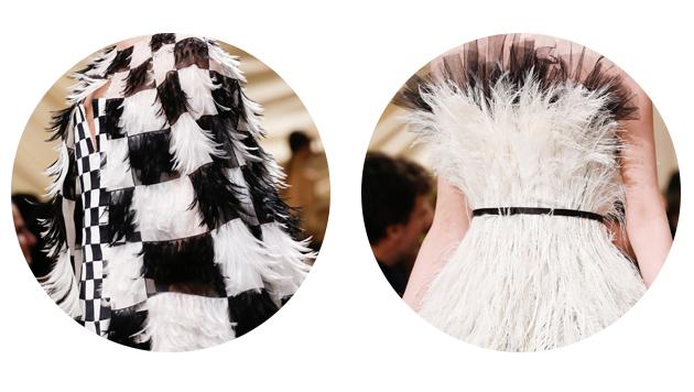 Dior羽毛