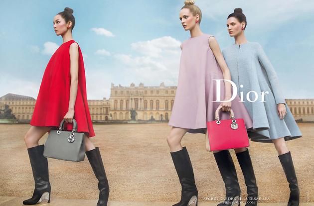 Dior-2014秘密花园系列广告