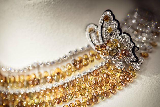 RéSONANCES DE CARTIER系列高级珠宝-NYMPHALIS项链/头饰/手镯/胸针