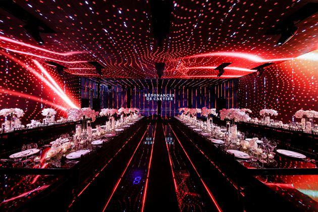 卡地亚全新RESONANCES DE CARTIER高级珠宝展晚宴现场