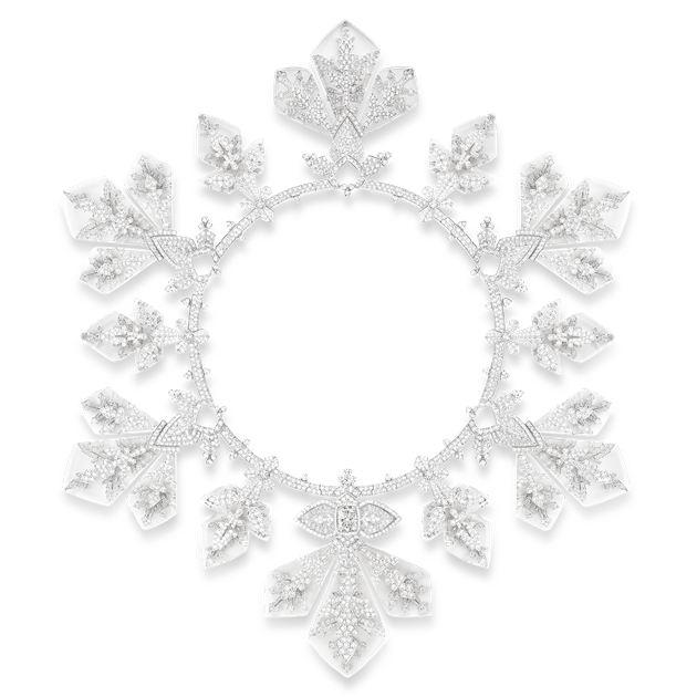 Lumière de Nuit极夜之光系列Flocon Imperial项链