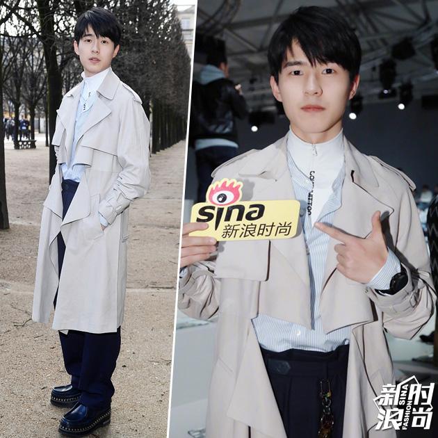 刘昊然助阵LV 2018秋冬大秀