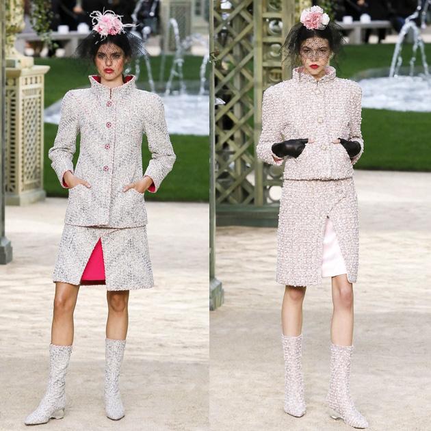 Chanel 2018春夏高级定制大秀 带你提前领略盎然的春意