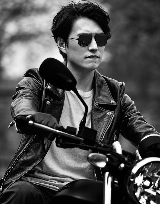靳东的酷帅大片