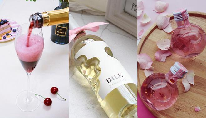 用这五款高颜值少女心的美酒开启元气一周