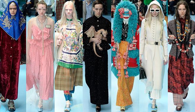 "Gucci在""手术室""上演了时尚迷你版权力的游戏"