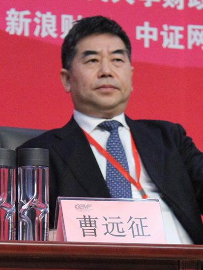 上海黄金交易所理事长焦瑾璞(图片来源:新浪财经)