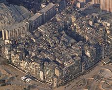 猪笼城寨原型:世界人口最密集地区