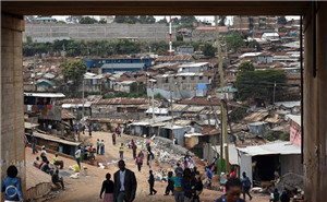 探访肯尼亚贫民区 居民一天只吃一顿饭