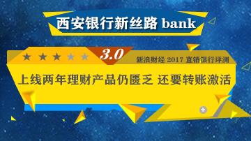 西安银行新丝路bank理财产品仍匮乏