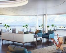 海上移动的丽思卡尔顿豪华旅店