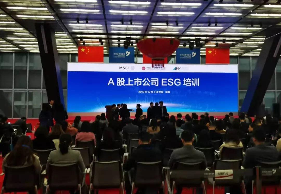 聚焦ESG发展,深交所举办A股上市公司ESG培训